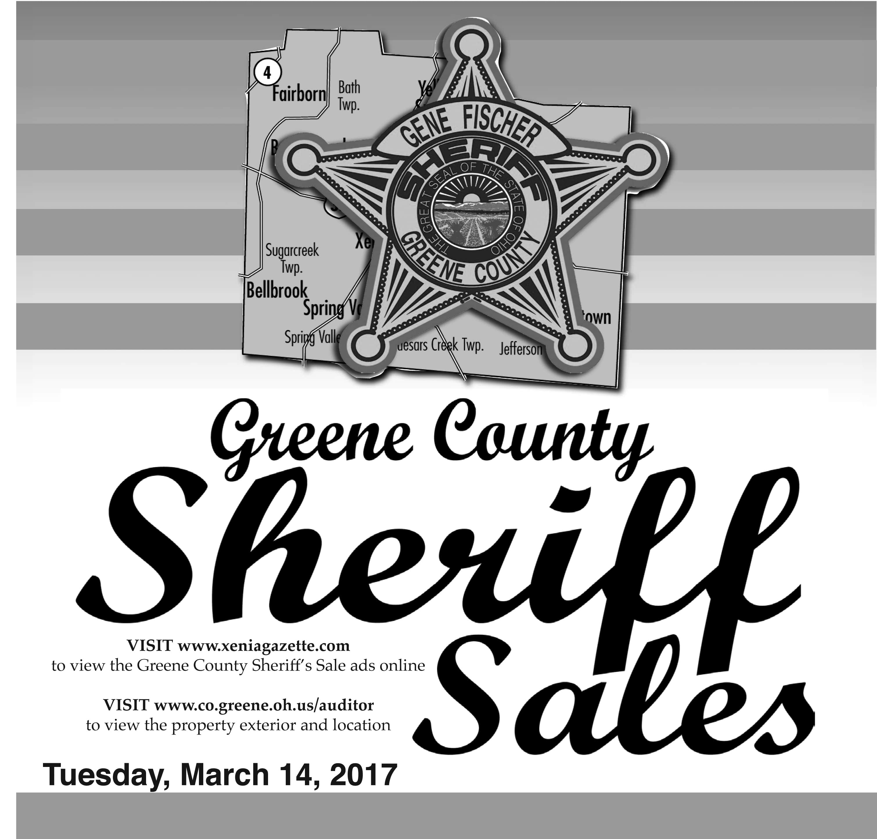 Sheriff Sales: March 14, 2017
