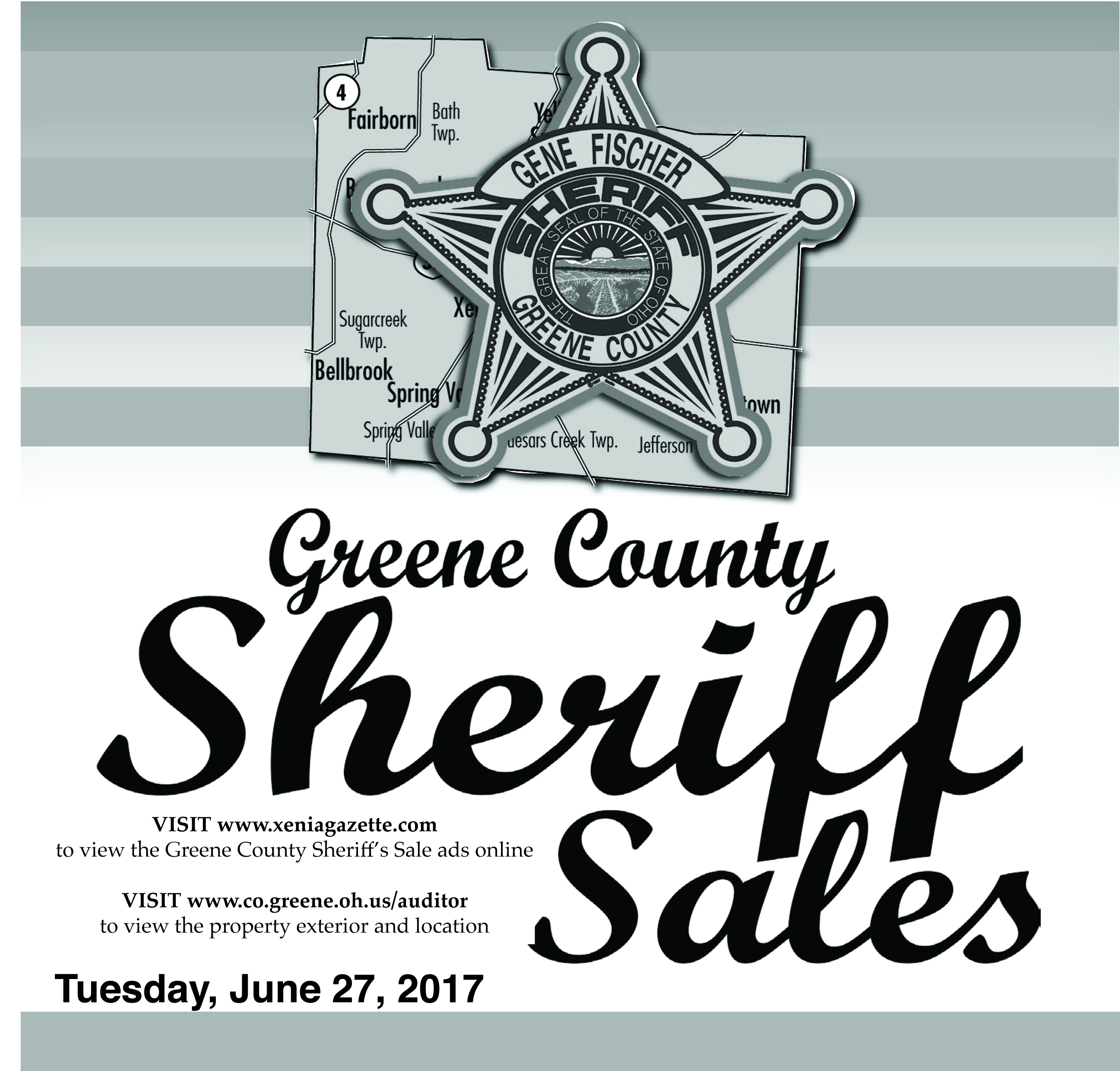 Sheriff Sale: June 27, 2017