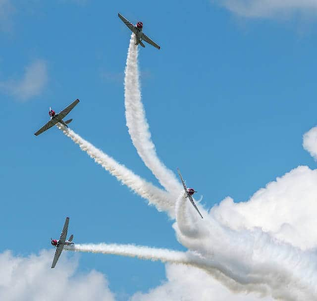 Don Tate | Greene County News The 2017 Vectren Dayton Air Show dazzled onlookers with static and moving displays.
