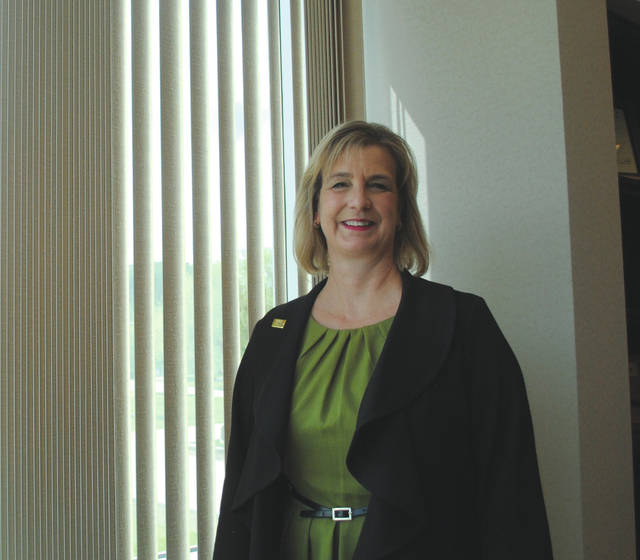 Whitney Vickers   Greene County News Dr. Cheryl Schrader is the president of Wright State University.