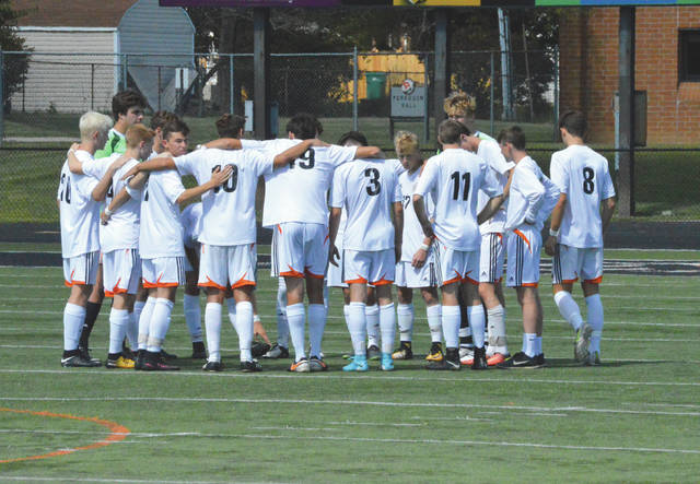 Beavercreek, shown here before a tie with 2016 Division I state runner-up St. Charles, is the region's top seed in boys high school soccer this season.