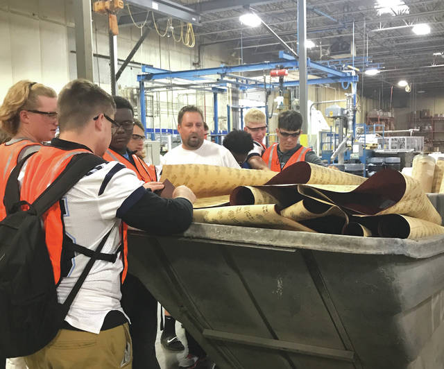 """Manufacturing Day was started was to address what's known as the """"skills gap"""" — the mismatch between the skills held by available workers and the skills that manufacturers require. Ali Industries introduced students to manufacturing in their community and employment possibilities both now and in the future."""