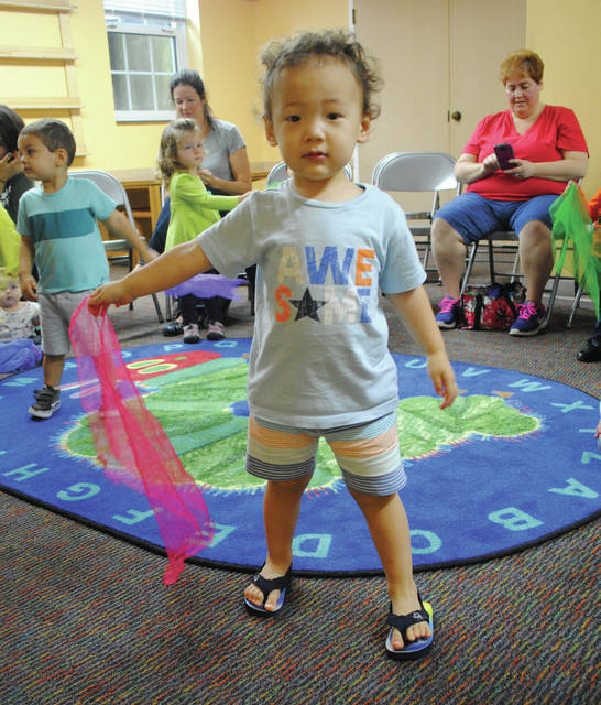 The Fairborn Community Library will host additional story time for toddler events 10:30-11 a.m. Fridays, Oct. 13, 20 and Tuesday, Oct. 17.