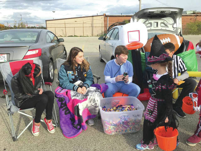 Hundreds of the youngest Skyhawks walked the front parking lot at Fairborn Primary School to celebrate the Halloween season.