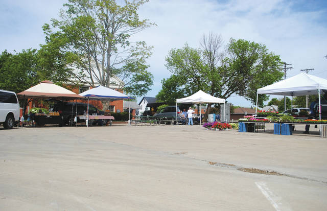 File photo The City of Fairborn hosts a weekly outdoor farmers market at 5/3 Commons through the spring, summer and early fall months. More vendors participate as the temperatures rise.
