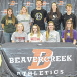 Beavercreek athletes sign with colleges