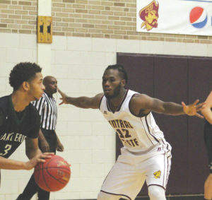Marauders hold off Lake Erie for 73-68 victory