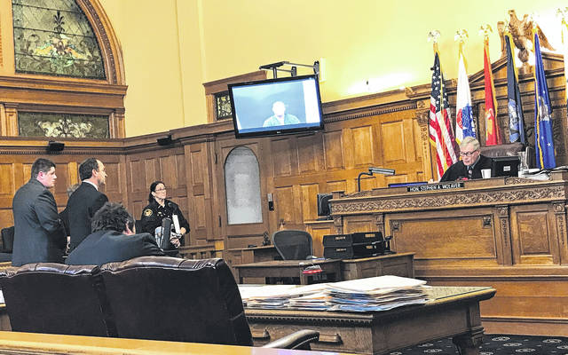 Anna Bolton   Greene County News Judge Stephen Wolaver presided over the arraignments Nov. 3 in Greene County Common Pleas Court. Attorney Jon Paul Rion entered a plea of not guilty for defendant Michael Gentile.