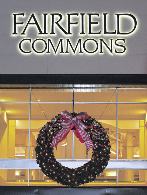 Barb Slone | Xenia Gazette Soin Medical Center helped present the Mall at Fairfield Commons Wreath Lighting ceremony on Nov. 10.