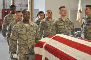 WPAFB Honor Guard heavily tasked