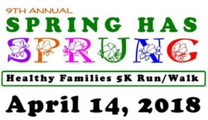 Registration open for Spring Has Sprung 5K