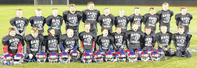 Submitted photos The Jamestown Youth Football bantam team.