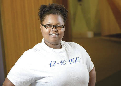Submitted photo Inspired by Wright State University's Independent Scholars Network, Vicky Lindsey hopes to launch a career championing foster students like herself.