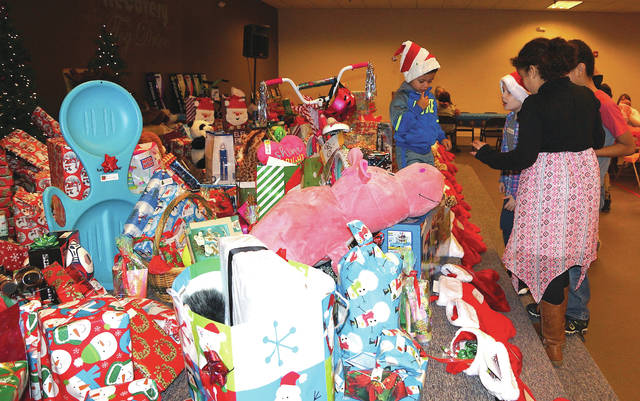 The Recovery Toy Drive was held early in December.