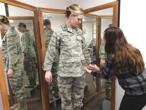 Air Force creates maternity-friendly uniform