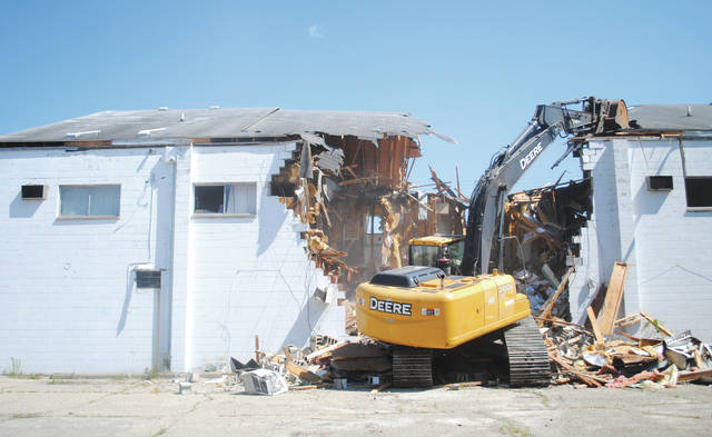 The Wright Motel and other blighted properties were demolished.