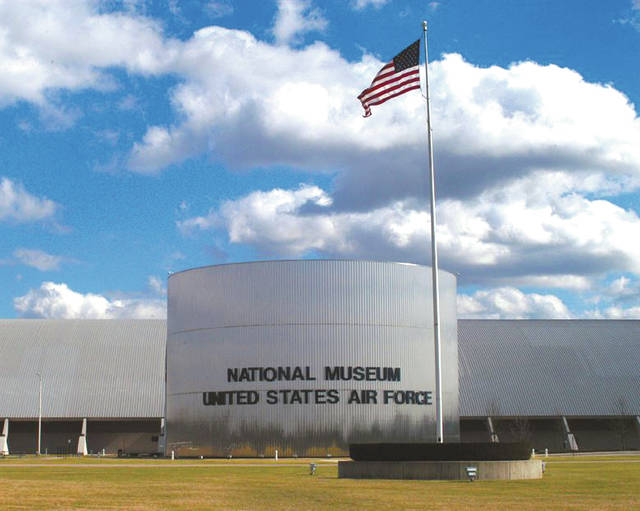 Submitted photo Front view of the National Museum of the United States Air Force.