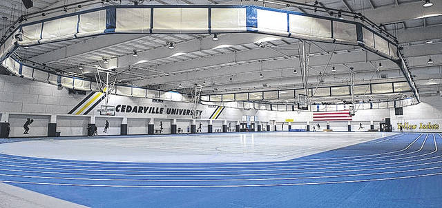 Submitted photo Doden Field House gets new flooring. Connor Sports Flooring of Elk Grove Village, Ill. took a little more than a month to resurface nearly 56,000 square feet of the facility.