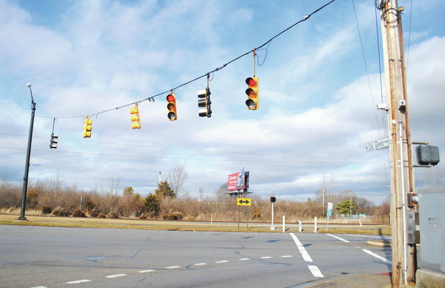 The roundabout is slated to be installed at the Col. Glenn Highway and Kauffman Avenue intersection. Construction is aimed to start in spring 2019 and wrap up by fall 2019.