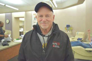 Fairborn man makes 100 blood donation