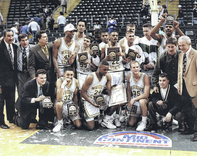 Submitted photo Wright State University Raiders 1993 Mid-Continent Champions.