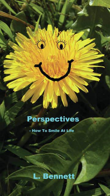 Submitted photos Local author Lisa Bennett&#8217;s new book, <em>Perspectives, How to Smile at Life</em>, can be purchased online. Bennett is donating all of the profits to Family Violence Prevention Center in Xenia.