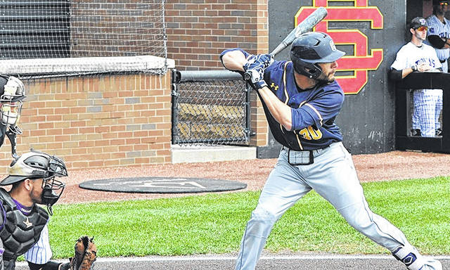 Submitted photo NCCAA All-American and All-Great Midwest Athletic Conference outfielder Colton Potter returns for his fourth season with the Yellow Jackets.