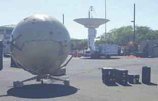 Submitted photo With support from the Air Force Small Business Innovation Research/Small Business Technology Transfer Program, GATR Technologies developed a portable antenna with tracking capability.
