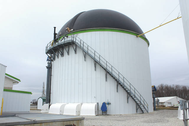 The dual-purpose tank which is known as the digester of the process.