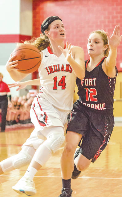 With Saturday's Division IV district final loss, Ise Bolender's amazing girls high school basketball career at Cedarville came to an end. Bolender (14) finishes as the school's all-time leading scorer with nearly 1,900 points.