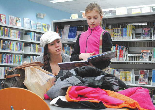 The Fairborn Community Library offers a children and teen sections and programs, located downstairs.