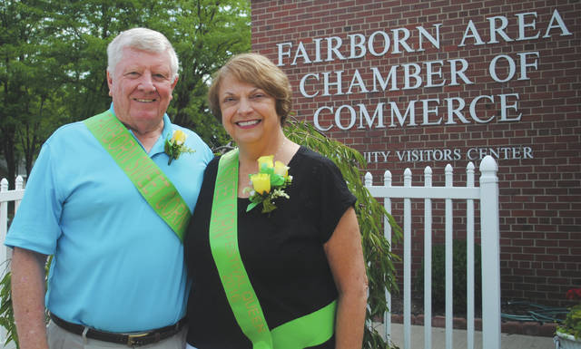 File photo Paul Newman Sr. (left) has been tapped to serve as the Marshall of the annual Fourth of July parade. He is pictured alongside his wife after the pair was selected to serve as the Sweet Corn Festival king and queen in previous years.