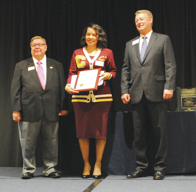 Central State University was named one of the Top Historically Black Colleges of 2017 by the Historically Black Colleges and Universities Digest. Wendy Hays accepted the award on the college's behalf.