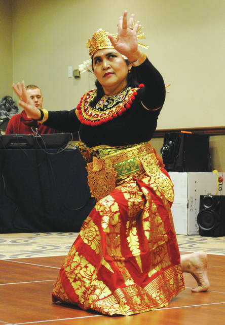 Whitney Vickers | Greene County News The Wright-Patterson International Spouses Group of Wright-Patterson Air Force Base hosted April 17 its annual International Fair, inviting cultures from around the globe to present dishes and performances.