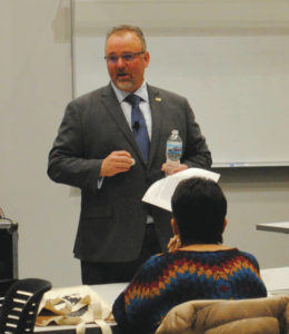Wright State University welcomes first provost candidate