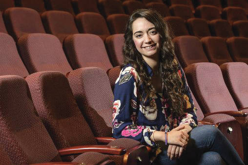Submitted photo Wright State graduate Julia Gomez-Cambronero's Spanish heritage influenced her theatre performances.