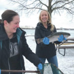Ready for summer: WPAFB stocks lakes with fish