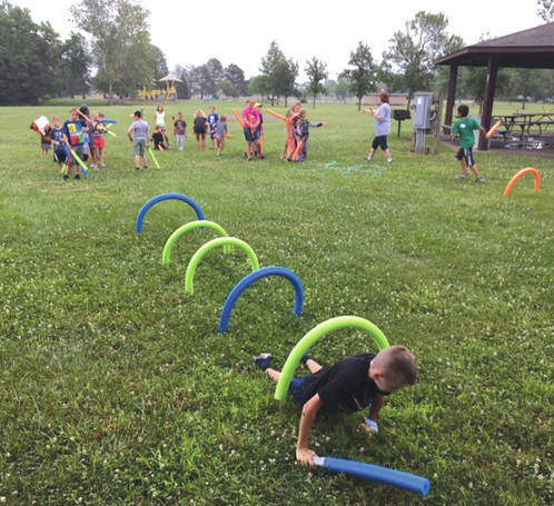Submitted photos Fairborn Parks offered local children the opportunity to fly into a galaxy far, far away as it hosted a Star Wars-themed day camp. Well, maybe the camp didn't take place in another galaxy, but participants still gathered at Community Park for an Ewok scavenger hunt, light saber training, galaxy painting, Star Wars-themed treats, a showing of one of the films and more.