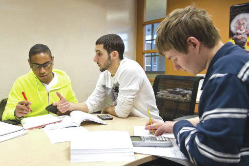 Submitted photo Under a pilot project, Wright State negotiates lower prices for textbooks and online access content on behalf of its students.