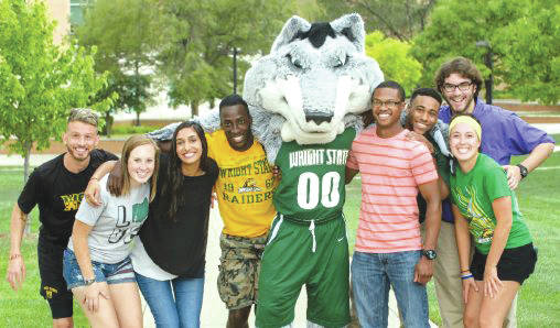 Submitted photo Wright State University is launching a number of efforts to increase enrollment.