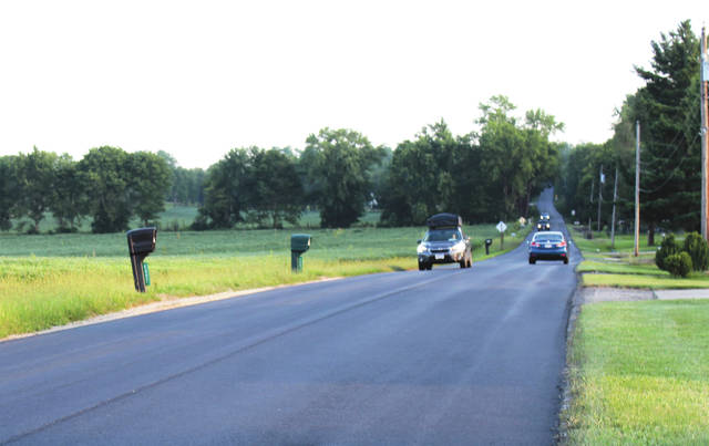 Linda Collins | Greene County News The newly-paved Byron Road in Bath Township is now open to traffic.
