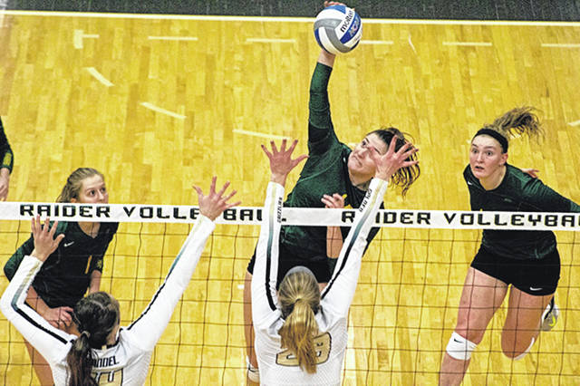 The Wright State University women's volleyball team defeated host West Virginia University and finished second overall at the West Virginia Invitational volleyball tournament, Aug. 24-25 in Morgantown, W. Va.