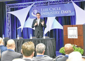 Air Force connects with industry