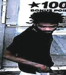 Police pursuing robbery suspect